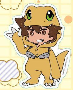 AmiAmi [Character & Hobby Shop] | Digimon Adventure tri. - Diecut Sticker (1) Taichi Yagami(Pre-order)