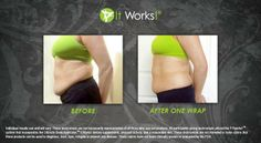 Look what can happen with just one wrap!! And guess what...there are 4 skinny wraps in one box!!! Here's the link to get your box of 4 wraps for $59.00 wholesale or $99.00 retail. https://suslee.myitworks.com/Shop/Product/135