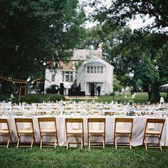 Alex + Taylor's summer farm wedding | Photo by Clark Brewer |