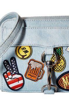 Rebecca Minkoff Mab Camera Bag (Light Denim) Handbags - Rebecca Minkoff, Mab Camera Bag, HSP7EPAX66-907, Bags and Luggage Handbag General, Handbag, Handbag, Bags and Luggage, Gift - Outfit Ideas And Street Style 2017