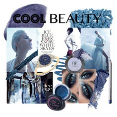 """Cool Beauty- Blue Eyeshadow"" by moxie44 ❤ liked on Polyvore featuring beauty, Urban Decay, NARS Cosmetics, Lime Crime, Gucci, Paula Dorf, Topshop, Bobbi Brown Cosmetics and coolbeauty"