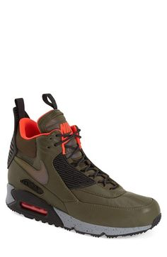 Nike 'Air Max 90 Winter' Sneaker Boot (Men)