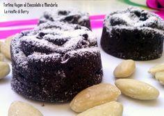 Tortine+Vegan+al+Cioccolato+e+Mandorle