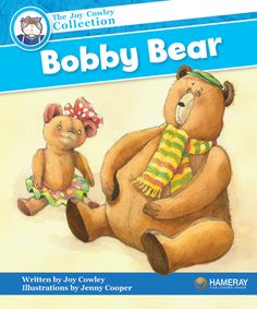 $5.95 Bobby Bear - Part of the Blue Series: Bobby Bear saves the day, with a little help from Rose Bear.