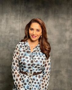 Madhuri Dixit, Dresses With Sleeves, Long Sleeve, Angel, Beautiful, Tops, Face, Women, Fashion