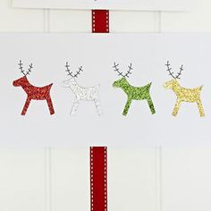 Make a reindeer Christmas card :: Christmas cards to make