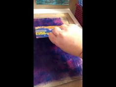 Focuses on using the Gelli Arts Gel Printing Plate to make washi style tape for an art journal, mixed media art, and more.
