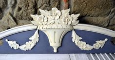 Large-Antique-French-Pediment-Fronton-Wall-Above-Door-Bed-architectural-salvage