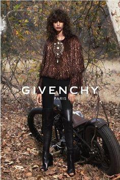 Mica Arganaraz by Mert & Marcus for Givenchy Spring 2015