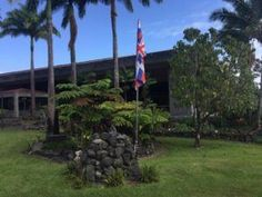 HILO, Hawai`i - Two Hilo colleges are divided over stone altars, or ahu, with inverted Hawai`i flags constructed on campuses by students.