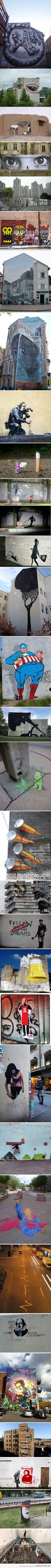 Arte de rua- graffite/ Street art- graffite