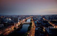 Image of the Day: Dublin city from above Bratislava, Oslo, Paris Skyline, New York Skyline, Madrid, City From Above, Dublin City, Image Of The Day, Installation Art