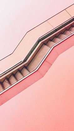 Pink stair photo
