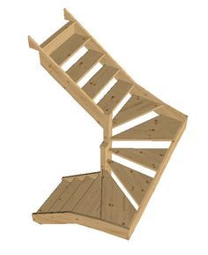 switchback stairs with winders - Google Search