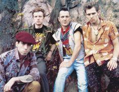 Mick Jones, Tory Crimes, Joe Strummer, Paul Simonon.