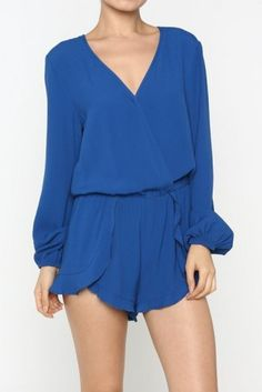 http://www.salediem.com/shop-by-collection/rompers/rompers-2112.html Solid Romper -  #salediem #fashion #bottoms  #rompers #jumpsuits #curvey