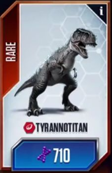 Tyrannotitan is a theropod dinosaur related to Carcharodontosaurus and Giganotosaurus from the Early Cretacous of South America. see Tyrannotitan/JW: TG Game Jurassic World, Jurassic Park Film, Michael Crichton, Spinosaurus, Legendary Creature, The Lost World, Falling Kingdoms, Creature Feature, Dinosaurs