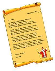 Sinterklaas Gedichten Bij Versjes Nl Rijmpjes Versjes