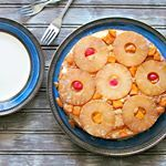 Festive and summery! I cant believe this post is almost two years ago. find the recipe for this Pineapple Upside down Cake from my blog archive at womanscribbles.net #bakefromscratch #blogging #baking #cakes #pineapples #summer #yummy #foodie #sweets #feedfeed #buzzfeedfood #huffposttaste #foodie #bakeblog
