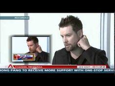 David Cook on Channel Newsasia Singapore Tonight..Oct 29, 2012