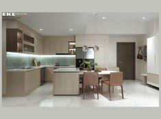 Thiết kế căn hộ chung cư Safira Khang Điền 85m2 - EKE INTERIOR Table, Projects, Furniture, Home Decor, Sapphire, Log Projects, Homemade Home Decor, Decoration Home, Room Decor