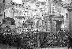 Spain - 1936. - GC - Madrid - Iglesia de San Sebastián. Calle de San Sebastián.