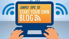 INFOGRAPHIC: Simple Tips to Start Your Own Blog - http://www.besthostnews.com/infographic-simple-tips-to-start-your-own-blog/