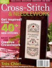 Cross-Stitch & Needlework Magazines - This is a paid service