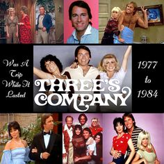Three's Company  Come and knock on our door.....   We've been waiting for…