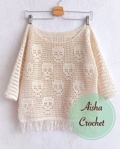 Crochet skulls sweater                                                                                                                                                     Mehr