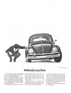 1961 vw volkswagen beetle cars photo vintage print ad