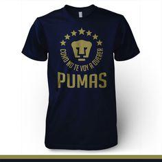 Pumas UNAM Mexico T-shirt Como No Te Voy A Querer - Pandemic Soccer