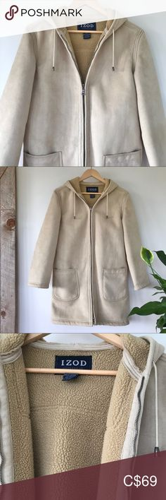 Spotted while shopping on Poshmark: Faux shearling coat IZOD! Faux Shearling Coat, Plus Fashion, Fashion Tips, Fashion Trends, Straight Cut, Trench Coats, Blazers, Jackets For Women, Leather Jacket