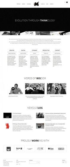 Euro M - Evolution Through Thinkology - Webdesign inspiration www.niceoneilike.com