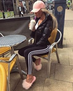 Swag Outfits For Girls, Hip Hop Outfits, Hipster Outfits, Sporty Outfits, Hot Outfits, Fashion Outfits, Womens Fashion, Hip Hop Mode, Cute Fashion