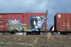 """artistic vandalism - """"art is power"""" by Hank"""