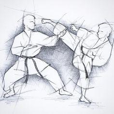 #zeichnung #drawing #disegno #skizze #sketch #karate #karatedo #shotokan #dojo #dan #meistergrad #budoka #schwarzgurt #kuroobi #blackbelt #mawashigeri #shutouke #kampfkunst #martialarts #karetefamily #karatemaster #karateislife #karateman #karate4live #karateteam