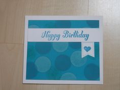 kleine Geburtstagskarte