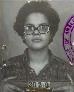 Dilma Rousseff's secret police photo, taken in 1970, when she was 22. | Dilma Vana Rousseff, born 14 December 1947 is the 36th and current President of Brazil. She is the first woman to hold the office. Prior to that, in 2005, she was also the first woman to become Chief of Staff to the President of Brazil, appointed by then President Luiz Inácio Lula da Silva.