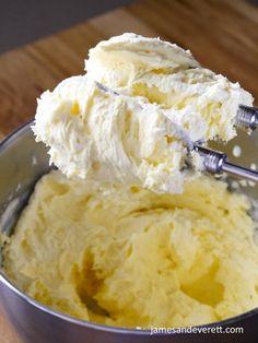 Easy Bavarian Cream | James & Everett