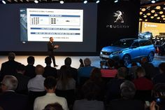 La conférence de presse Peugeot débute