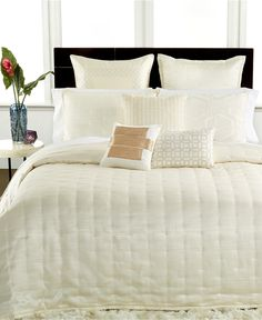 Hotel Collection Verve King Coverlet - Bedding Collections - Bed & Bath - Macy's