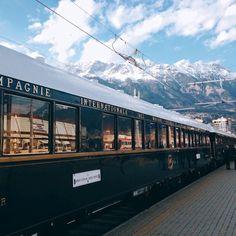 Venice Simplon-Orient-Express in Innsbruck, Austria