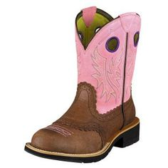 FATBABY COWGIRL  PRICE : $99.95  Ranch to rodeo, these deliver performance with fun Fatbaby style. ATS™ technology inside provides stability, support, and cushioning. The Pro Crepe™ Light outsole is durable, streamlined, with traditional crepe performance