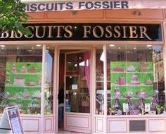Maison Fossier.  France.  Home of the most amazing cookies on Earth, the Biscuit rose de Reims.