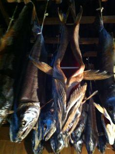 塩引き鮭  村上