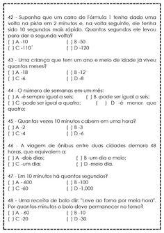 Atividades de Matemática para 5º Ano - Reforço - SÓ ESCOLA Professor, Leo, Teaching, Pista, Google, School Binders, Math Questions, Activities