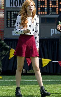 Bella Thorne – 'Mostly Ghostly 2′ Set Photos, LA March 2014