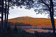 Climb Mount Monadnock. On a clear day, you can see all the way to Boston! #hiking in New Hampshire