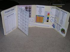 Great to have at school and at home for homework time.  Grab some file folders…